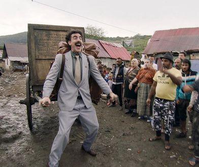 """Sacha Baron Cohen: Na planie """"Borata"""" po raz pierwszy w życiu musiałem mieć kamizelkę kuloodporną"""