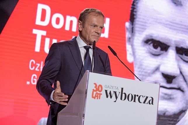 """Donald Tusk został wybrany Człowiekiem Roku """"GW"""""""