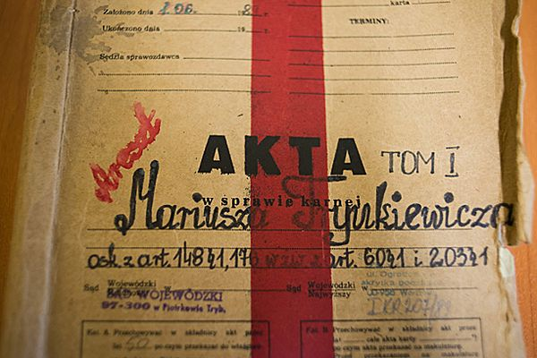 Akta sprawy karnej przeciwko Mariuszowi Trynkiewiczowi