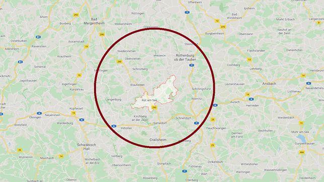Co najmniej sześć osób zostało zastrzelonych w Rot am See
