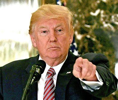 Trump ostro o zmarłym polityku
