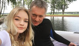 Liza Pieskowa i jej ojciec Dmitrij