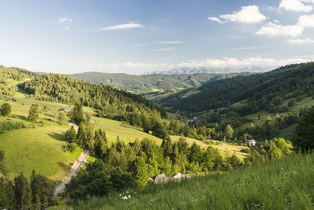 Wakacje w górach - Ochotnica Górna i Dolna