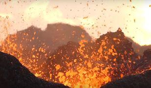 Wulkan na wyspie Reunion jest stale aktywny