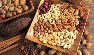 Orzechy to jedno z najlepszych źródeł białka.