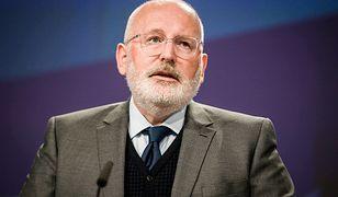 Wiceprzewodniczący KE Frans Timmermans już wcześniej opowiadał się za wszczęciem postępowania wobec Polski