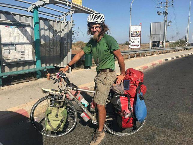 Oliver McAfee był fanem rowerowych wycieczek