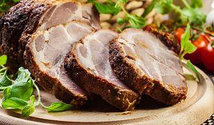 Karkówka z francuską musztardą i sosem tzatziki