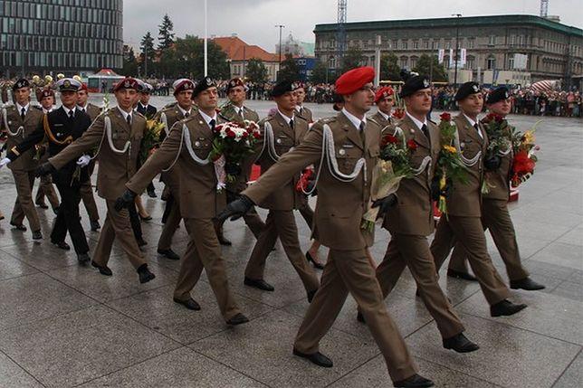 Obchody 70. rocznicy zakończenia II wojny światowej na placu Piłsudskiego