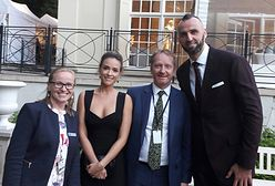 Gortat, Krupa i Bachleda-Curuś. Kto jeszcze spotkał się z Kate i Williamem?