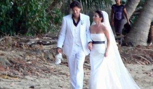 Shania Twain - pierwsze ślubne zdjęcie