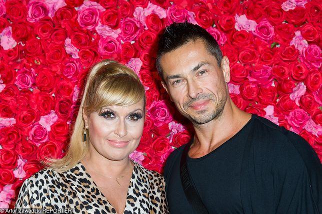 Katarzyna Skrzynecka i jej mąż