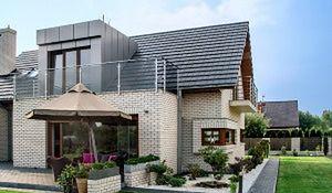 Klinkier - materiał na elewację nowoczesnego domu