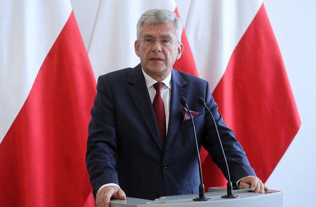 Stanisław Karczewski przyznał, że problemem jest termin