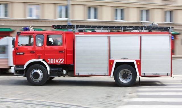 Straż pożarna w Galerii Mokotów. To były tylko zaplanowany alarm próbny.