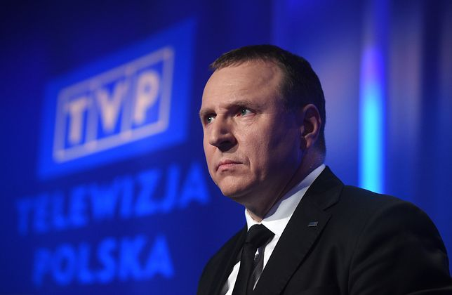 Jacek Kurski, prezes TVP.