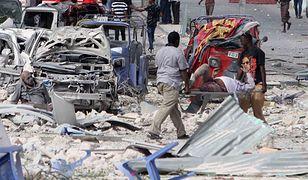 Somalia: 28 ofiar samobójczego zamachu na hotel w Mogadiszu