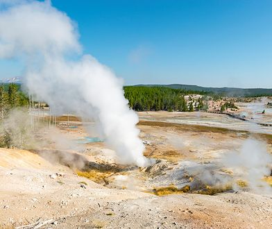 W przeszłości kilkukrotnie dochodziło na terenie Yellowstone do eksplozji superwulkanu