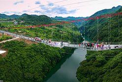 Chiny. Powstał najdłuższy szklany most na świecie
