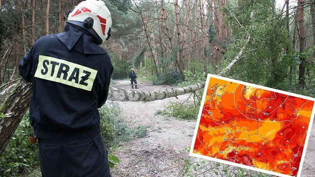 Groźna pogoda w Polsce (East News)