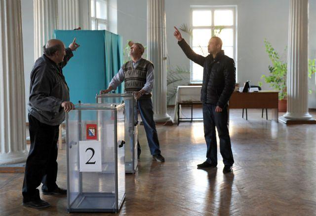 Referendum ws. przyszłości Krymu - zdjęcia