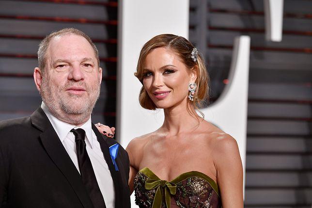 Żona odchodzi od Weinsteina. Fala krytyki wobec hollywoodzkiego producenta