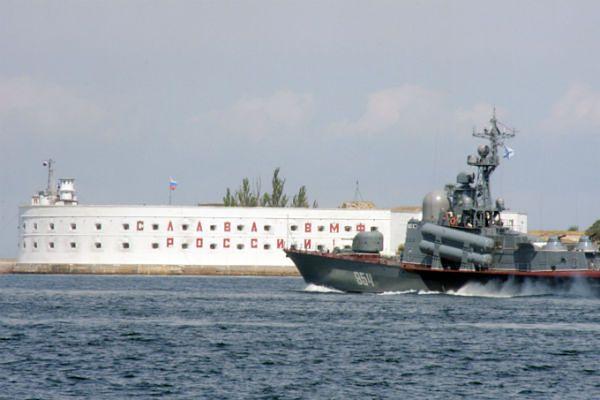 Okręty służby granicznej Ukrainy w gotowości bojowej. Wychodzą w morze