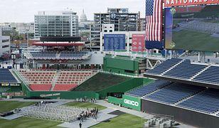 Strzelanina przed stadionem w Waszyngtonie w czasie meczu. Konieczna ewakuacja widzów
