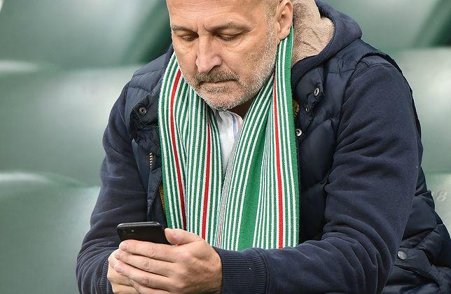 Marcinkiewicz na meczu Legia Warszawa - Lechia Gdańsk
