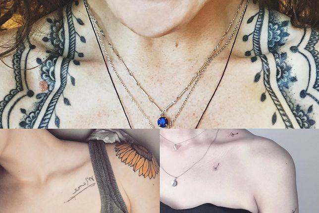 Przegląd najładniejszych tatuaży na obojczyku
