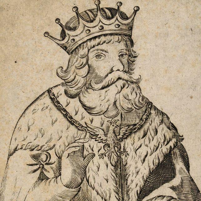 """Wyobrażenie księcia Lecha Pierwszego z początku XVIII wieku. Pojawiło się ono niedawno na jednym z wydań """"Kroniki Prokosza""""."""