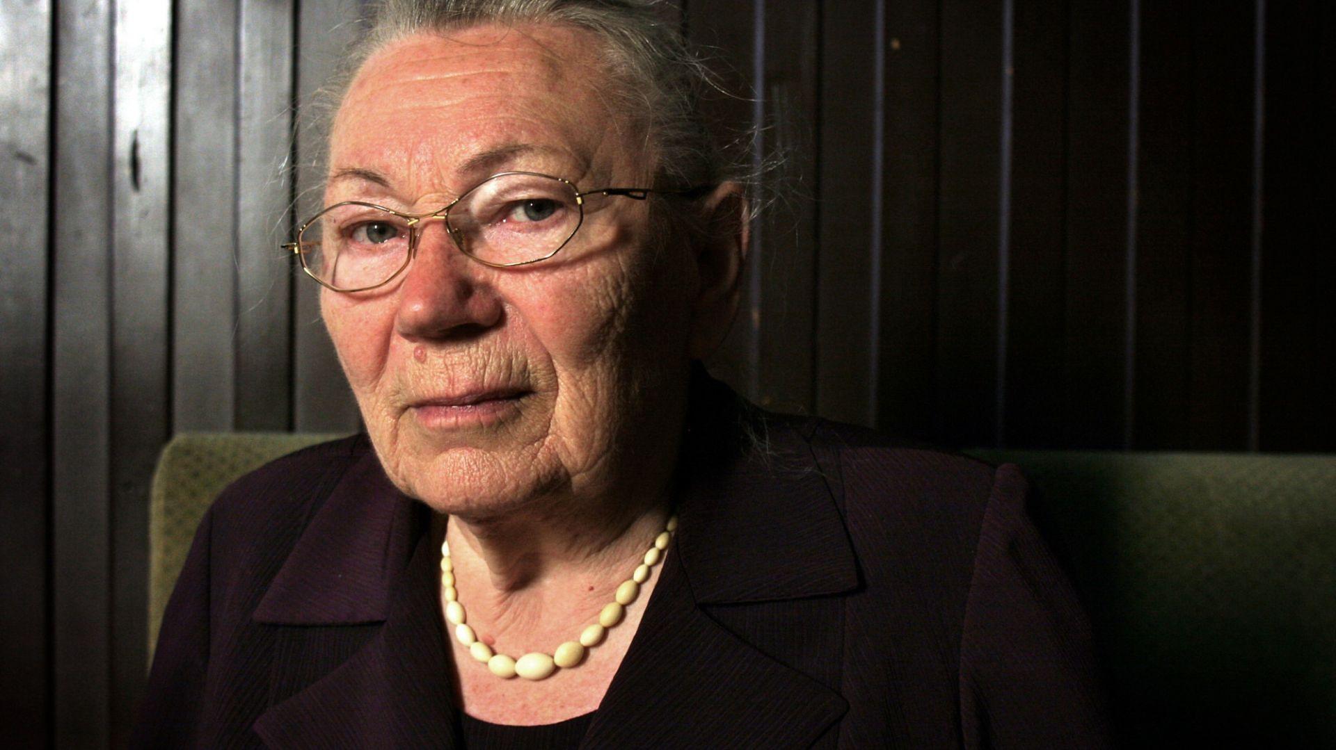 Anna Walentynowicz w 2006 roku (fot. Michał Szlaga)