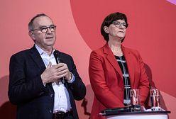 Koniec rządu Merkel? Są nowe władze SPD