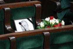 Sejm uczcił pamięć zmarłego posła. Głos zabrał prezes PiS