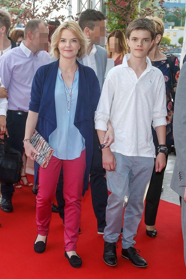 Monika Zamachowska pokazała syna. To już nastolatek