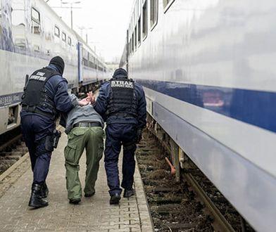 Obcokrajowiec został zatrzymany