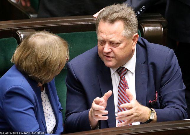Wiceminister Jarosław Zieliński liczył, że jego żona wystartuje w wyborach samorządowych