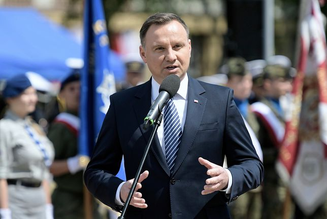 Prezydent Andrzej Duda może być zadowolony: prawie 60 proc. Polaków zadeklarowało udział w referendum konstytucyjnym