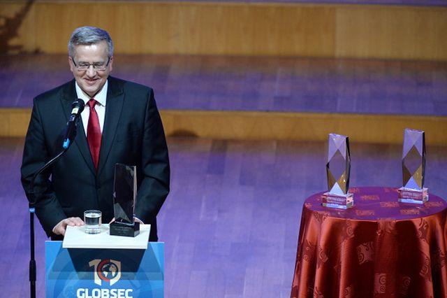 Prezydent Komorowski w Bratysławie: wolność można traktować różnie