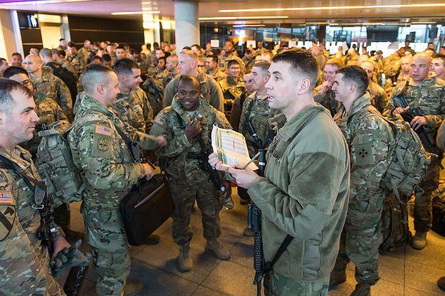Misiewicz: w Polsce już 1 tys. żołnierzy USA
