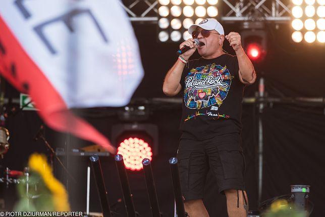 Jerzy Owsiak na Pol'and'Rock Festival.