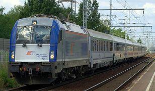 Wykoleiła się lokomotywa (zdjęcie ilustracyjne)