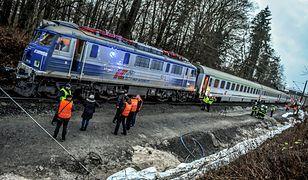 Pociąg zderzył się z koparką w Starym Kisielinie skąd sama lokomotywa ruszyła w stronę Nowej Soli