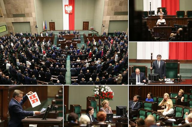 Nocna debata o losie Glińskiego i Kuchcińskiego. Terlecki nie chciał spędzać dużo czasu w Sejmie
