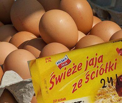 Ostrzeżenie GIS. Salmonella w popularnych jajkach. Uwaga, bakteria jest na skorupkach