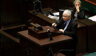 Kaczyński oskarżał opozycję o zamordowanie brata