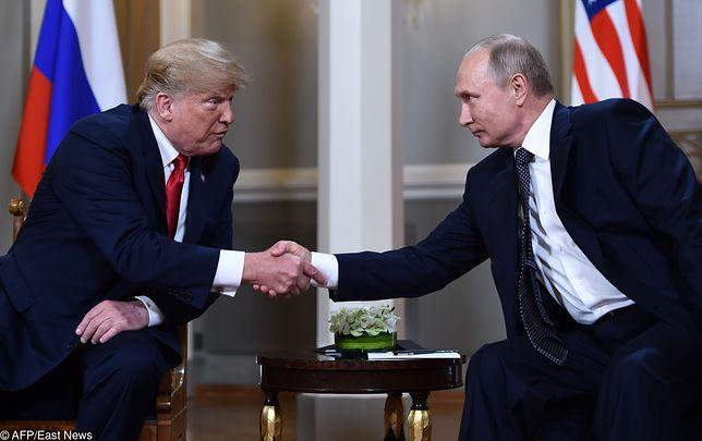 Szczyt Trump - Putin. Historyczne spotkanie w Helsinkach