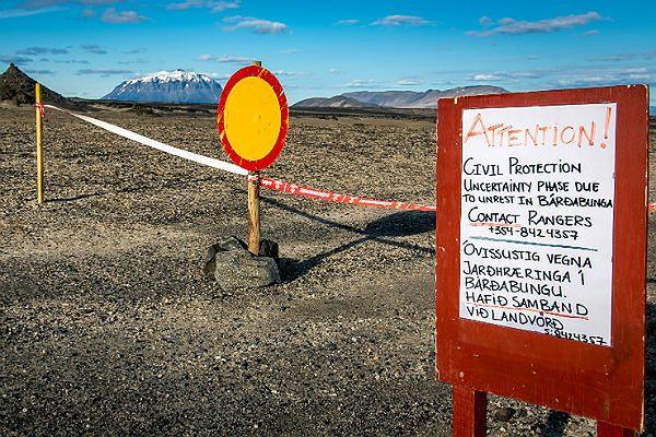 Czerwony alert na Islandii po nowej erupcji w rejonie Bardarbungi