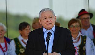 Prezes Jarosław Kaczyński na Pikniku Rodzinnym PiS w Dygowie pod Kołobrzegiem