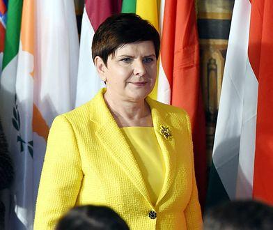 Beata Szydło w Rzymie (25.03.2017 r.)
